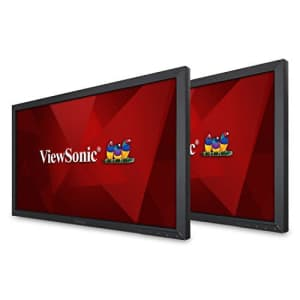 ViewSonic VA2452SM_H2 24 Inch Dual Pack Head-Only 1080p LED Monitors with DisplayPort DVI and VGA, for $360