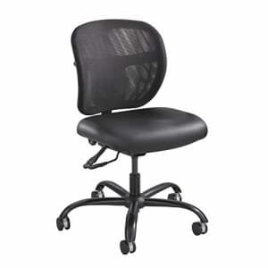 Safco Products Vue Intensive-Use Task Chair, Rated up to 500 lbs., Cool Mesh Back, Waterfall Edge for $329