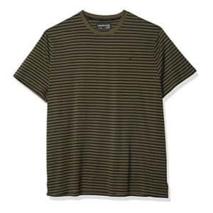 Calvin Klein Men's Short Sleeve Crew Neck Liquid Jersey T-Shirt with Uv Protection, Uniform Combo, for $22