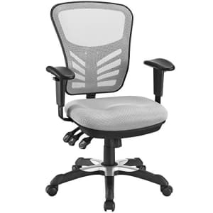 Modway EEI-757-GRY Articulate Ergonomic Mesh Office Chair in Gray for $167