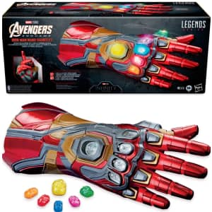 Marvel Legends Series Iron Man Nano Articulated Gauntlet for $75 w/ padding for preorders
