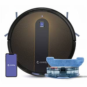 Coredy R750 Robot Vacuum Cleaner, Compatible with Alexa, Mopping System, Boost Intellect, Virtual for $303