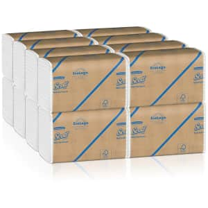 Scott Essential EcoLogo 4,000-Count Multifold Paper Towels for $31