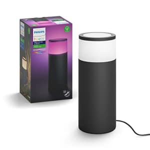 Philips Hue Calla White & Color Ambiance Outdoor Smart Pathway light extension (Hue Hub & Base for $128
