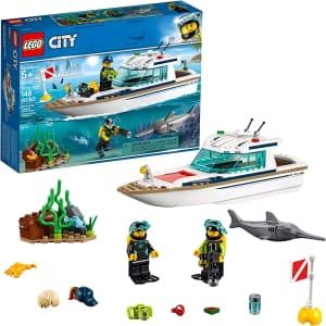 LEGO City Diving Yacht Set for $20