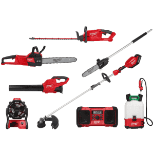 Milwaukee Outdoor Power Equipment at Home Depot: Buy more, save more