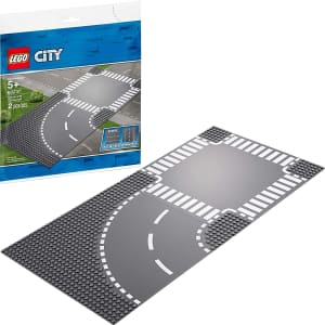 LEGO City Curve and Crossroad Set for $23