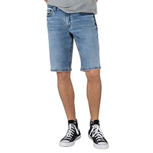 Silver Jeans Co. Men's Zac Relaxed Fit Shorts, Medium Shade, 30W x 12.5L for $74