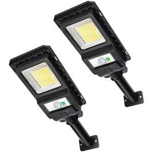 Awanfi LED Solar Light 2-Pack for $37