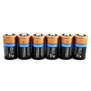 6 Duracell Ultra CR2 3v Lithium Photo Batteries DL-CR2 for $35