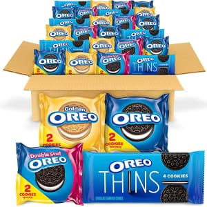 Oreo Cookies School Lunch Box Snacks 56-Count Variety Pack for $11