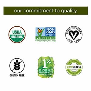 Nutiva Organic Cold-Pressed Raw Hemp Seed Protein Powder, Hi-Fiber, 3 Pound | USDA Organic, Non-GMO for $30
