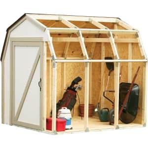 2x4basics Custom Shed Kit w/ Barn Roof for $30