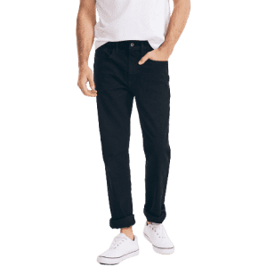 Nautica Men's Straight Fit Denim Jeans for $20