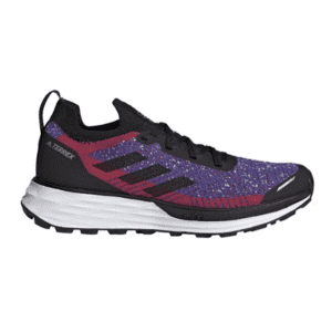 adidas Women's Terrex Two Ultra Primeblue Trail-Running Shoes for $105