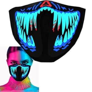 Moobibear LED Rave Mask for $14