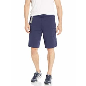 PUMA Men's NU-TILITY Shorts, Peacoat, M for $39