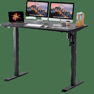 """TTKK 52"""" x 28"""" Electric Standing Desk for $150"""