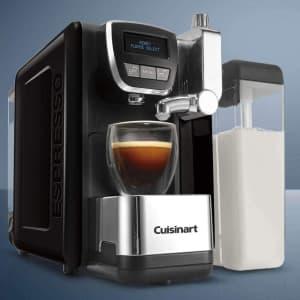 Cuisinart Espresso Defined 19-Bar Programmable Espresso, Cappuccino, and Latte Machine for $240 w/ padding