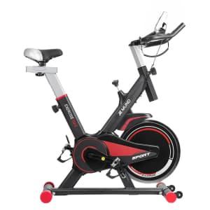 Xmund Upright Stationary Spinning Bike for $180