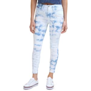 Tommy Hilfiger Tommy Jeans Women's Tie-Dyed Skinny Jeans for $26