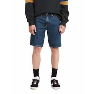 Levi's Men's 405 Standard Jean Shorts, Dark Score - Dark Indigo, 31 for $25