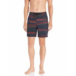Quiksilver Men's Secret Ingredient Boardshort 18 Swim Trunk, Sky Captain, 40 for $49