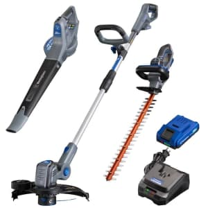 Westinghouse 20V Max 5-Piece Cordless Power Lawn Equipment Combo Kit for $99