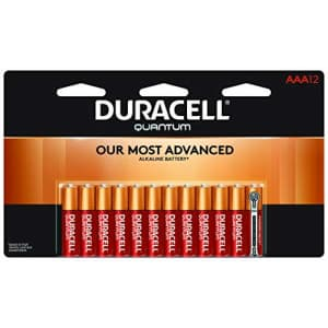 Duracell - Quantum AAA Alkaline Batteries - long lasting, all-purpose Triple A battery for for $28