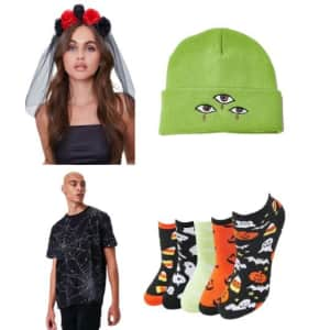 Halloween Shop at Forever 21: from $3