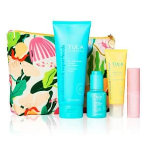 Tula 5-Piece Radiance Routine Kit for $94