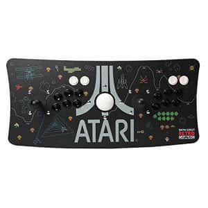Inland Atari Arcade Fightstick USB Dual Joystick 2 Player Game Controller for PC Mac Raspberry Pi Console for $155