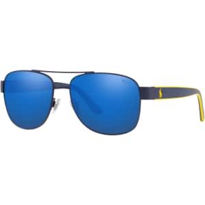 Polo Ralph Lauren Men's Navigator Sunglasses for $108