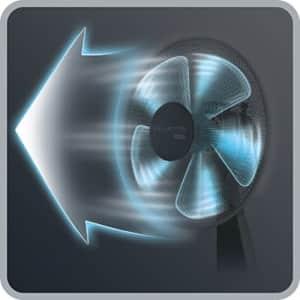 Rowenta VU2631 Turbo Silence Table Fan, Portable Fan, 4 Speed Fan with User Friendly Turn Dial for $96