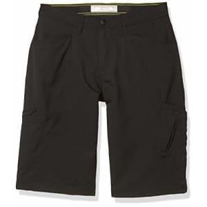 Lee Jeans Lee Boys' Big Dungarees Grafton Cargo Short, Jet Black, 12 Regular for $18