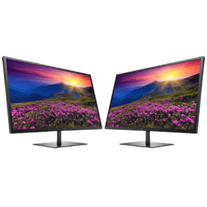 HP Monitor Bundles: from $200