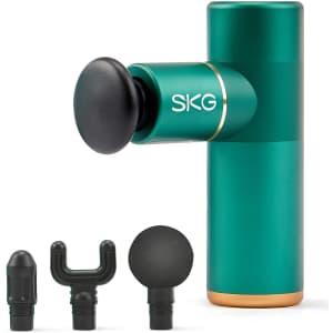 SKG Portable Mini Massage Gun for $40