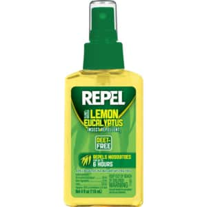 Repel Plant-Based Lemon Eucalyptus Insect Repellent 4-oz. Pump Spray for $5
