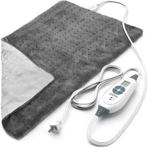 """Pure Enrichment PureRelief XL 12"""" x 24"""" Electric Heating Pad for $28"""