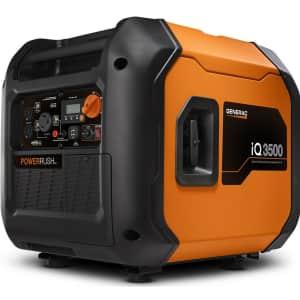Generac iQ3500 Portable Inverter Generator for $799