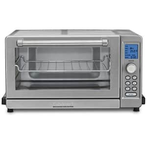 Cuisinart TOB-135 convection toaster oven broiler in red for $220