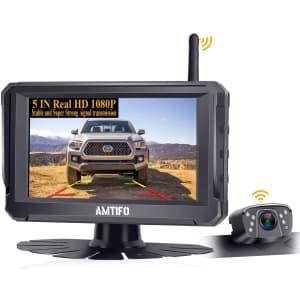 Amtifo A6 Wireless Backup Camera for $65