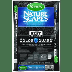 Scotts Nature Scapes Color-Enhanced Mulch 2-Cu. Ft. Bag for $4
