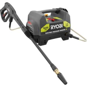 Ryobi 1,600 PSI 1.2 GPM Electric Pressure Washer for $68