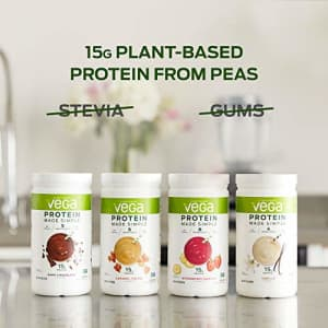 Vega Protein Made Simple - Caramel Toffee (10 Servings), 9.1 Oz - Delicious Plant Based Healthy for $15
