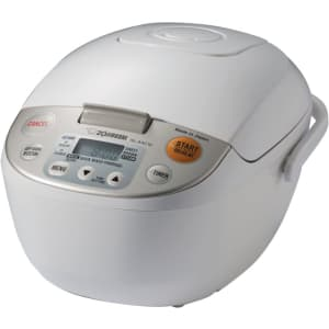 Zojirushi Micom 5.5-Cup Rice Cooker for $132