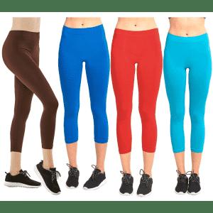 Women's Capri Legging 10-Pack for $20