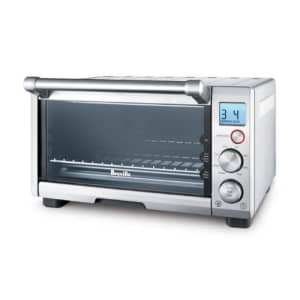 Breville the Compact Smart Oven, Countertop Electric Toaster Oven BOV650XL for $190