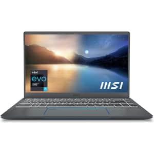 """MSI Prestige 14 EVO 11th-Gen. Intel i5-1135G7 14"""" Laptop for $699 after rebate"""