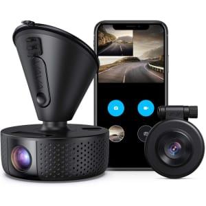 Vava Dual Dash Cam for $128